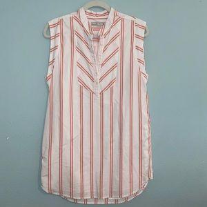 Abercrombie & Fitch Striped Shirt Dress